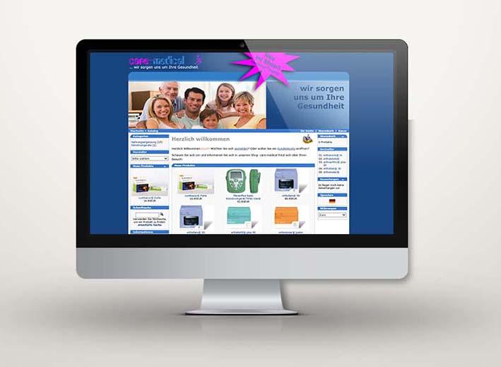 Webdesign und -pflege